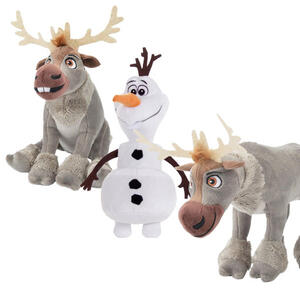 Peluche Disney Frozen Olaf/Sven