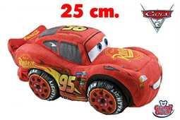 Giocattolo Cars 3. Peluche Saetta McQueen 25 Cm Disney