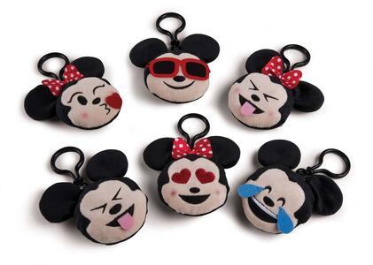Peluche Emoticon Topolino / Minnie 7,5 Cm