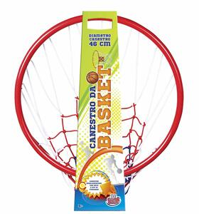 Basket. Anello In Metallo Con Rete