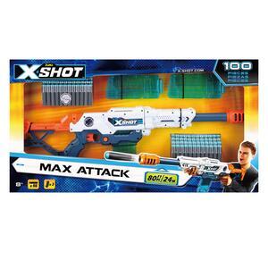 X-Shot. Large Max Attack Con 100 Dardi