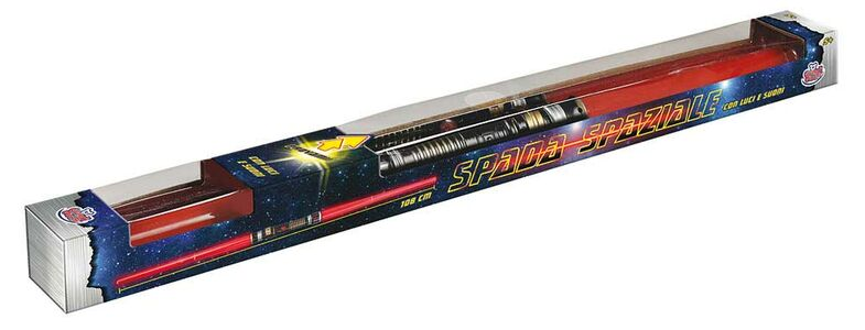 Giocattolo Spada Spaziale a Batteria Grandi Giochi