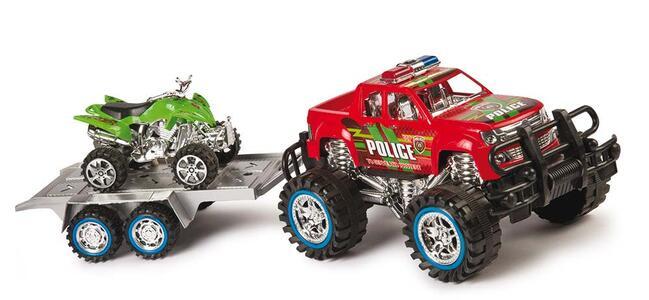Jeep a Frizione con Rimorchio con Quad