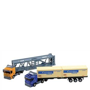 Camion con Rimorchio Die Cast Ass - 2