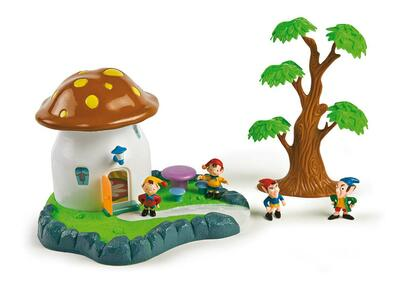 Playset Casa Fungo degli Elfi