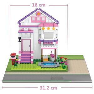 Blokki girl villa con piscina 291 pezzi - 8