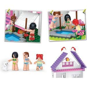 Blokki girl villa con piscina 291 pezzi - 9