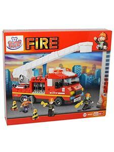 Blokki pompieri camion 270 pezzi