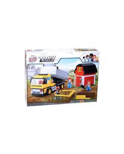 Blokki town cantiere camion 384pz - 2