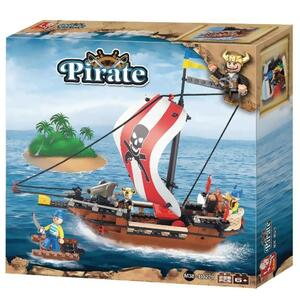 Blokki pirati nave dei pirati 226 pezzi