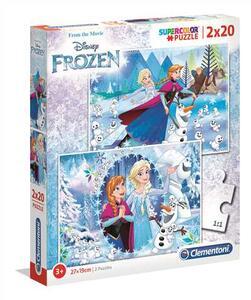 Puzzle 2 X 20 Pz. Frozen