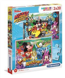 Puzzle 2 X 20 Pz. Mickey