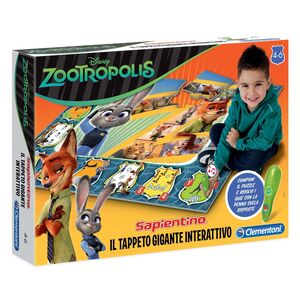 Giocattolo Zootropolis. Tappeto gigante interattivo Clementoni 1