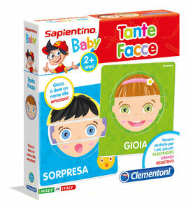 Sapientino Baby. Tante Facce. Clementoni (11957)