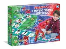 Giocattolo Tappeto Gigante Interattivo. Super Pigiamini. Pj Masks Clementoni