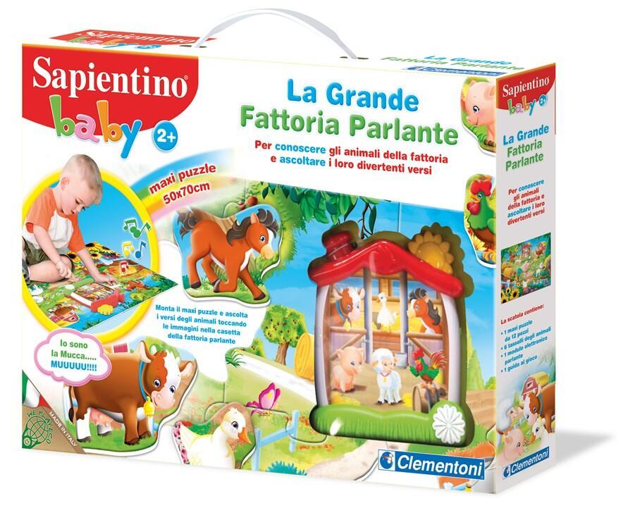Sapientino Baby La Fattoria Parlante Sapientino. Clementoni (12038) - 2 1c3a658649d