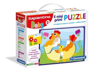 Giocattolo Sapientino Baby. I Miei Primi Puzzle Clementoni