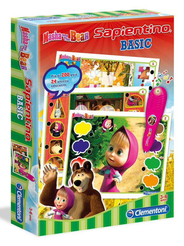 Sapientino penna basic masha e orso clementoni for Masha giocattolo