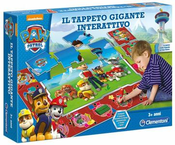 Tappeto Gigante Interattivo Paw Patrol Clementoni. Clementoni (13321) - 2