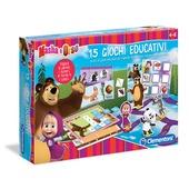 Masha e Orso. 15 Giochi Educativi