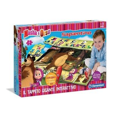 Masha e orso tappeto gigante interattivo clementoni for Masha giocattolo