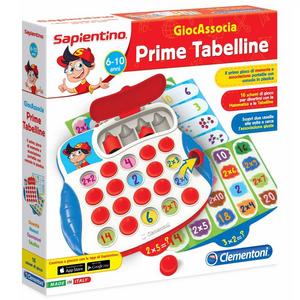 Giocattolo Sapientino GiocAssocia. Prime tabelline Clementoni 0