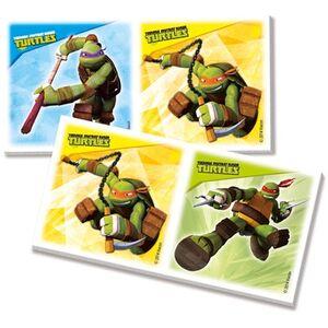 Giocattolo Teenage Mutant Ninja Turtles. Edukit 4 in 1 Clementoni 2
