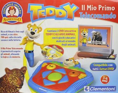 Clementoni Teddy Il Mio Primo Telecomando