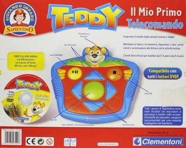 Clementoni Teddy Il Mio Primo Telecomando - 3
