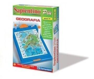 Sapientino Più Geografia Clementoni