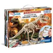 Focus Junior. Lo scheletro del grande T-Rex. Archeogiocando