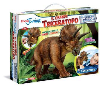 Giocattolo Focus Junior. Il Grande Triceratopo Clementoni