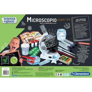 Scienza e Gioco. Microscopio Super Kit - 10