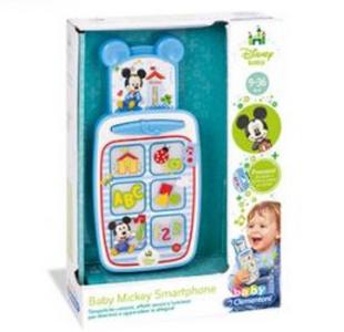 Giocattolo Lo Smartphone di Baby Mickey Clementoni 0