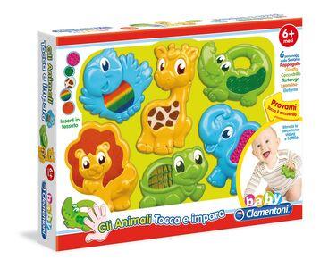 Foto di Animali Tocca e Impara Clementoni, Giochi e giocattoli 0