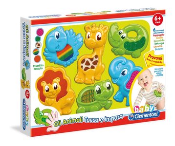 Giocattolo Animali Tocca e Impara Clementoni Clementoni 0