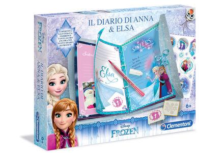 Giocattolo Frozen. Il Diario di Anna e Elsa Clementoni
