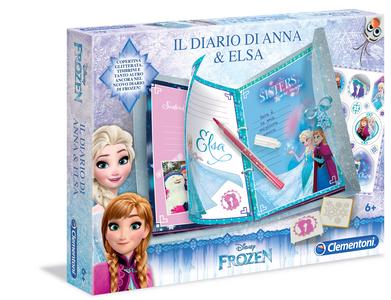 Giocattolo Frozen. Il Diario di Anna e Elsa Clementoni 0