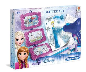 Frozen. Glitter Art - 9