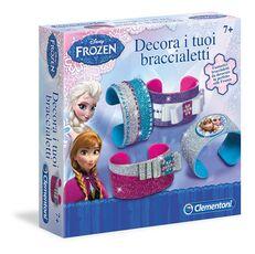 Giocattolo Frozen. Decora i Tuoi Braccialetti Clementoni