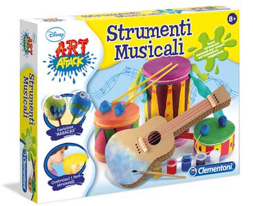 Giocattolo Art Attack Strumenti Musicali Clementoni Clementoni 0