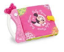 Giocattolo Baby Clementoni. Baby Minnie Morbido Libro Clementoni