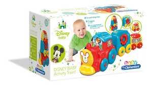 Giocattolo Baby Clementoni. Disney Baby Activity Train Clementoni