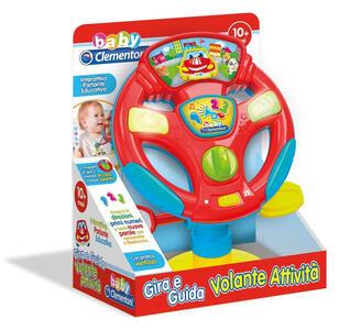 Baby Clementoni. Gira E Guida Volante Attività
