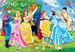 Giocattolo Puzzle Maxi 104 pezzi Principesse Disney con Principi Clementoni 1