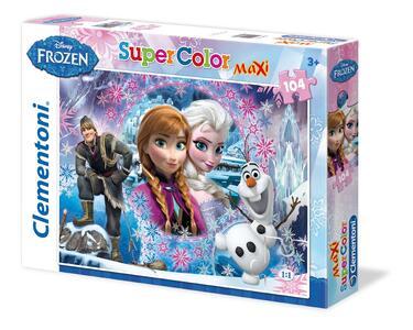 Puzzle Maxi 104 pezzi Frozen. La Regina della Montagna al Nord - 2