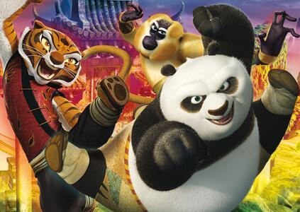 Puzzle Maxi 104 pezzi Kung Fu Panda - 3