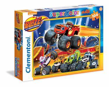 Puzzle Maxi 104 Pz. Blaze E Le Mega Macchine. Blazing Speed! - 2