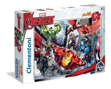 Giocattolo Puzzle Maxi 24 pezzi Avengers #01 Clementoni