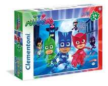 Giocattolo Puzzle Maxi 24 pezzi Super Pigiamini. Pj Masks Clementoni